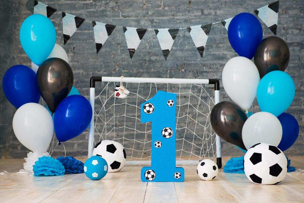 Украшение дома на день рождения в стиле Футбол