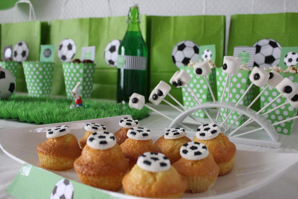 Игры на дне рождения в футбольном стиле